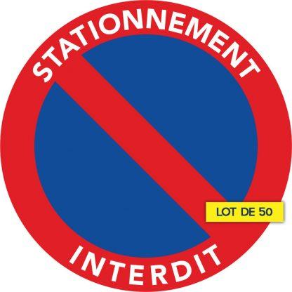 interdit de stationner